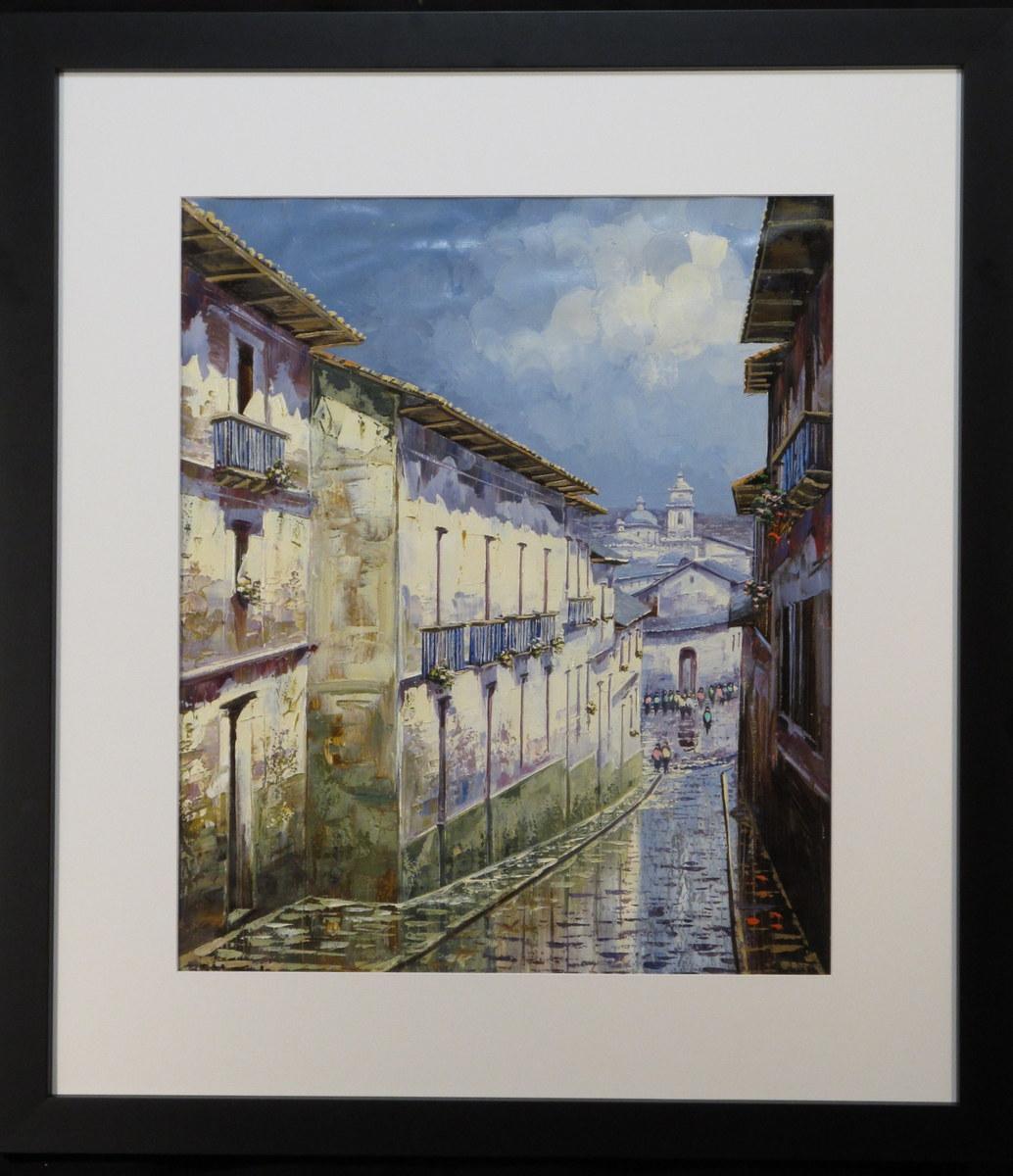 Quito Street Ecuador