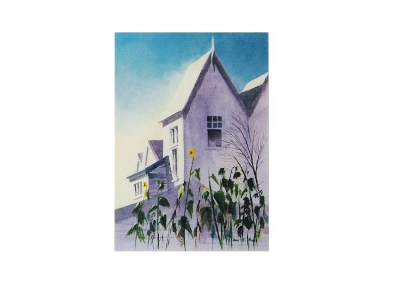 sun flower house