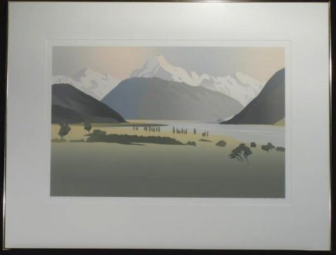Mt Cook from Glentanner