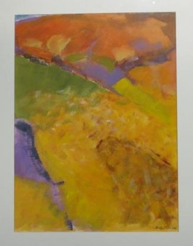 landscape 9  (Triptitch)